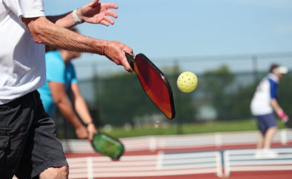 why pickleball is a popular outdoor sport in florida